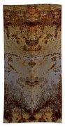 The Rusted Feline Beach Towel