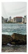 The San Juan Puerto Rico Cityscape Beach Towel