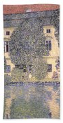 The Schloss Kammer On The Attersee IIi Beach Towel