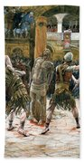 The Scourging Beach Towel by Tissot