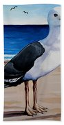 The Sea Gull Beach Towel