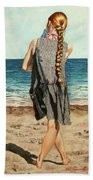 The Secret Beauty - La Belleza Secreta Beach Towel