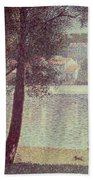 The Seine At Courbevoie Beach Towel
