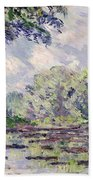 The Seine At Giverny Beach Towel