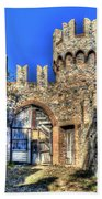 The Senator Castle - Il Castello Del Senatore Beach Towel