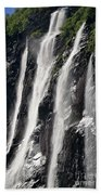 The Seven Sister Waterfall Beach Towel