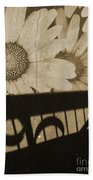 The Shadow Flowers Beach Towel