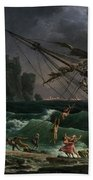 The Shipwreck Beach Towel