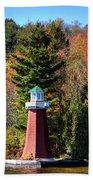 The Shoul Point Lighthouse Beach Towel