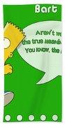 The Simpsons Beach Towel