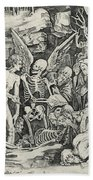 The Skeletons Beach Towel