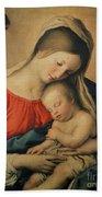 The Sleeping Christ Child Beach Towel by Il Sassoferrato