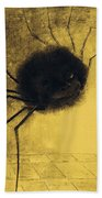 The Smiling Spider Beach Towel