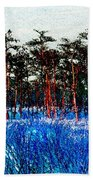 The Snow King 1899 Beach Towel