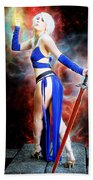 The Sorceress And The Sword Beach Towel