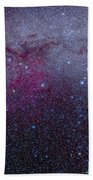 The Southern Milky Way Beach Towel