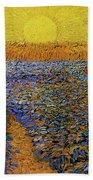 The Sower Beach Towel