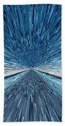 The Speed Of Light Beach Towel