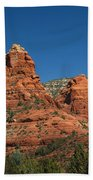 The Sphinx Rock Formation Beach Towel