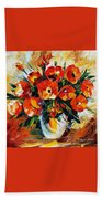 The Spring Is Here Beach Towel