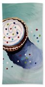 The Sprinkled Cupcake Beach Towel