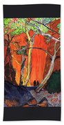The Standley Chasm Beach Towel