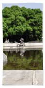 The Stately Duck Beach Towel