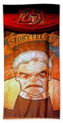The Storyteller Hhn 25 Beach Towel
