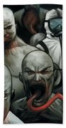 The Strain Beach Towel