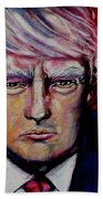 The Strength Of President Donald J Trump Beach Towel