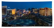 The Strip Las Vegas Beach Towel