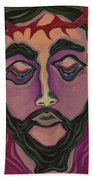The Suffering King Beach Towel