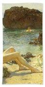 The Sun Bathers Beach Sheet