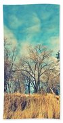The Sunday Trees Beach Towel