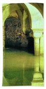 The Sunken Crypt Of San Zaccaria Beach Towel