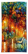The Symphony Of Light Beach Towel