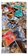 The Synergies Of Recycling Wastes And Intellects #3005 Beach Towel