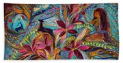 The Tales Of One Thousand And One Nights Beach Towel