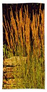 The Tall Grass Beach Towel