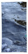 The Thaw Is Coming Beach Towel