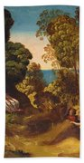 The Three Ages Of Man 1515 Beach Towel