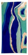 The Three Atolls Beach Towel