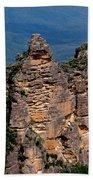 The Three Sisters Katoomba Australia Beach Towel
