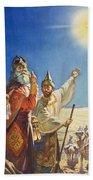 The Three Wise Men  Beach Towel