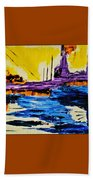The Timeless Land - Number Five Beach Towel