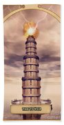 The Tower Beach Towel