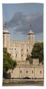 The Tower Of London. Beach Towel