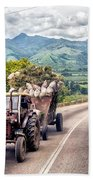 The Tractor Beach Towel