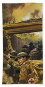 The Trenches Beach Towel by Andrew Howat