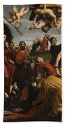 The Triumphal Entry Of Christ In Jerusalem Beach Towel